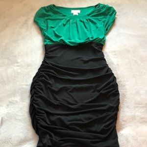Side Rutched super flattering dress
